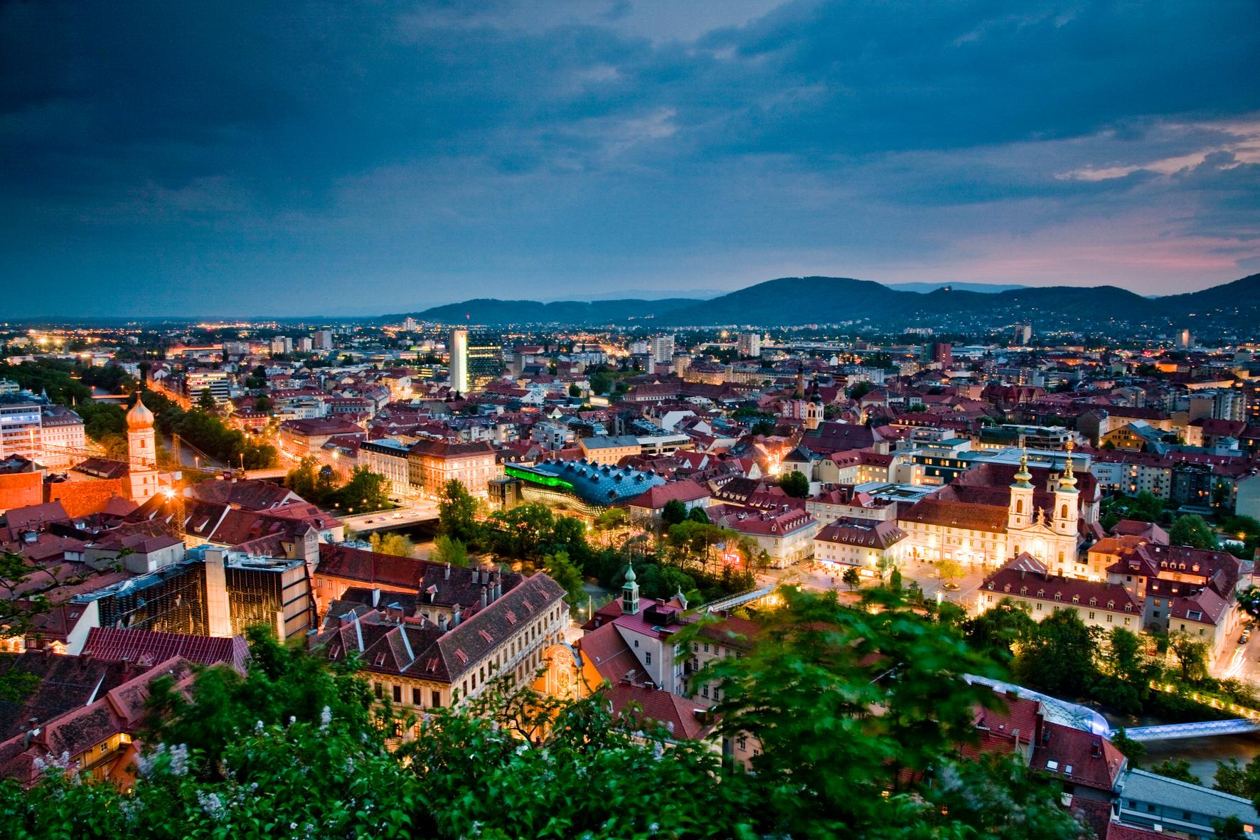 Graz, Tagesausflug am 5.9. und 10.10.2020